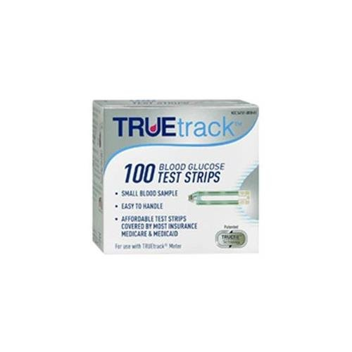 TrueTrack Blood Glucose Test Strips 100 EA - Buy Packs and SAVE (Pack of 3)