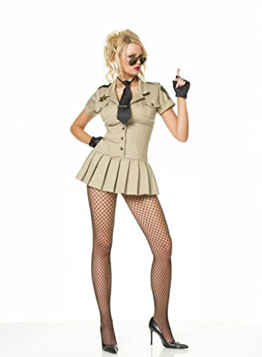 Leg Avenue Womens Sheriff Cop Police Outfit Fancy Dress Sexy Costume, S -