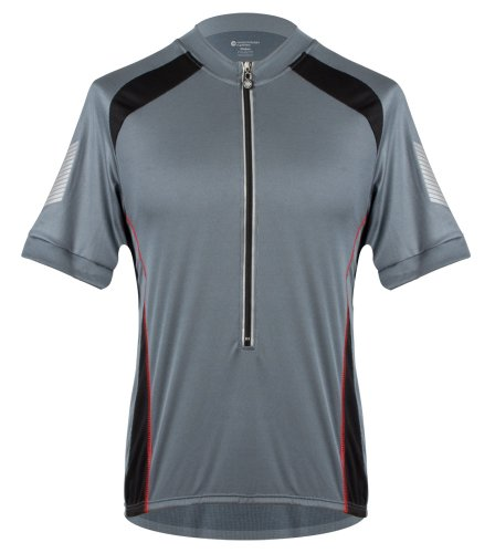 Aero Tech Designs Tall Mens Elite Coolmax Cycling Jersey - Made in the USA (Large, - Tall Jersey Cycling