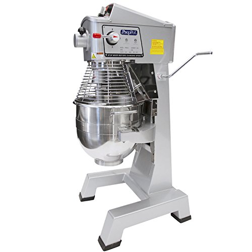 - Commercial Stainless Steel Food Mixer, 30-Quart PREPPAL PPM-30 Large Floor Heavy Duty Mixer Stand mixer with Bowl Lift