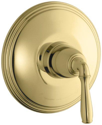 KOHLER K-T10357-4-PB Devonshire Thermostatic Trim, Vibrant Polished Brass by Kohler