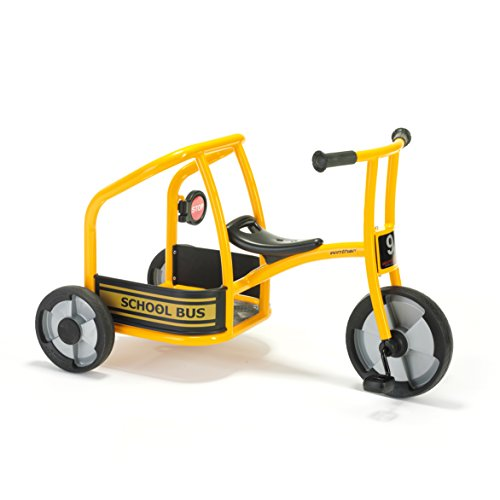 Winther School Bus Tricycle Kids Ride On