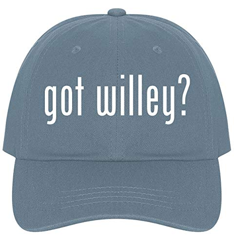 The Town Butler got Willey? - A Nice Comfortable Adjustable Dad Hat Cap, Light Blue