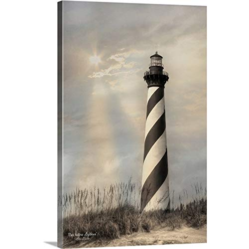 Lori Deiter Premium Thick-Wrap Canvas Wall Art Print Entitled Cape Hatteras Lighthouse 12