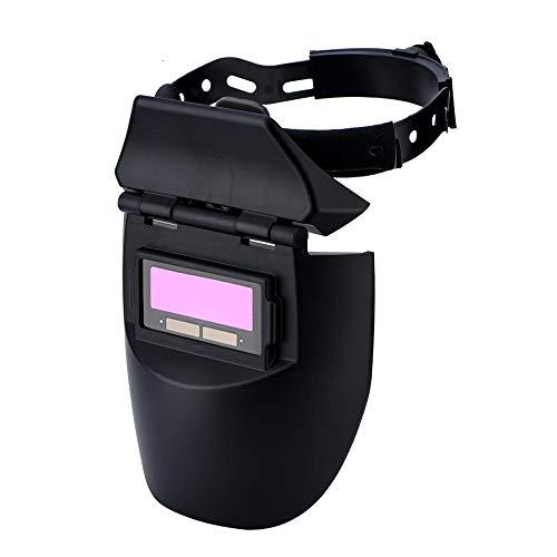 Solar Auto-Darkening Welding Helmet Electric Soldering Mask Welder Goggles Shading Cap Eyes Protector Polishing Lens]()