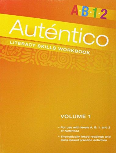 Autentico 2018 Literacy Skills Workbook Volume 1 Grade 6/12