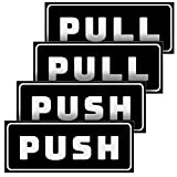 Push Pull Stickers