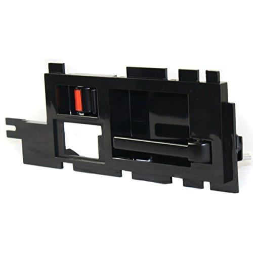 Diften 120-A5223-X01 - New Door Handle Passenger Right Side Front Inner Interior Inside Black Chevy RH