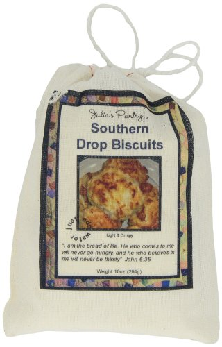 Julia's Pantry Biscuits, Southern Drop, 10 Ounce (Best Southern Buttermilk Biscuits)