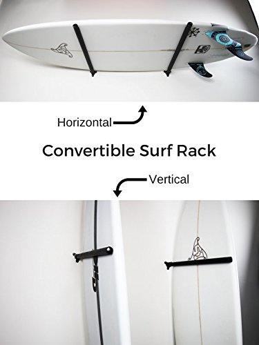 Wall Rack for Surfboards, Snowboards, Wakeboards & Skis by Surf Labs