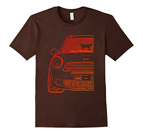 100 Series Hatch (Mens 60R Series Red Roughed Hatch Tshirt 3XL Brown)