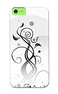 MMZ DIY PHONE CASECatenaryoi High Grade Flexible Tpu Case For iphone 5c - Siwlry ( Best Gift Choice For Thanksgiving Day)