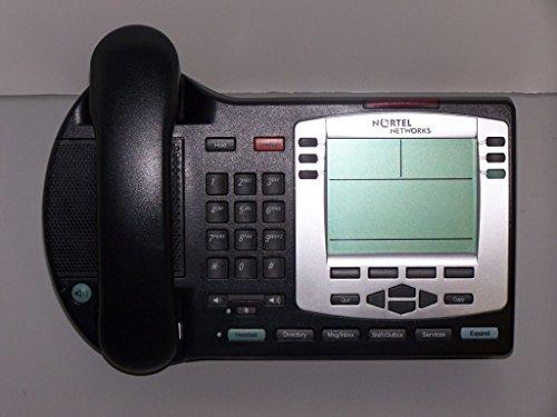 Nortel IP Phone 2004 PoE Charcoal w Silver Bezel - Charcoal Bezel