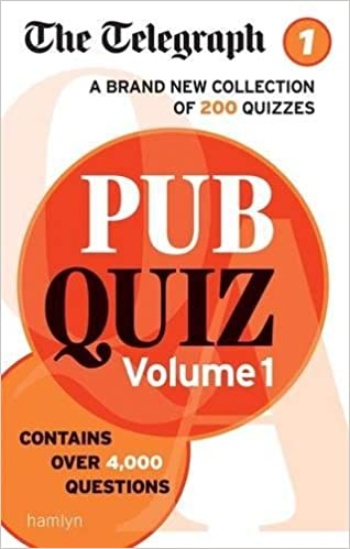 The Telegraph: Pub Quiz Volume 1 (The Telegraph Puzzle Books)