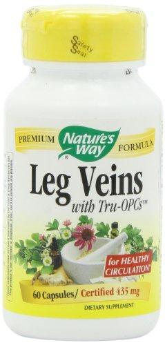 Way veines des jambes, 60 capsules de la nature