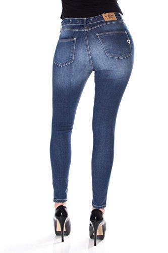 Denim P19ieg9e29 Skinny Fit Jeans Ginocchio Strappato P19 Donna p19iet6e29 Al Please pxvTwp