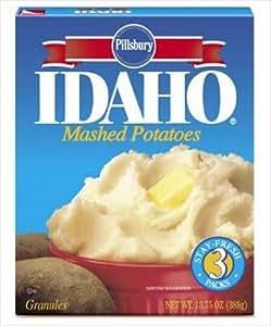 Idaho Mashed Potato Granules 13.75