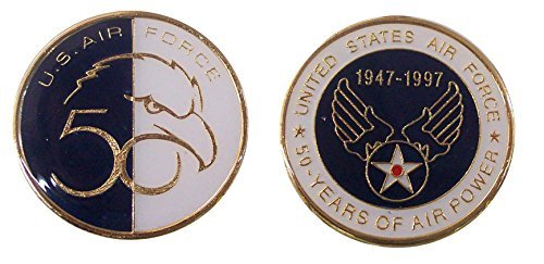Air Force 50th Anniversary Collectible Challenge Coin/ Logo Poker/ Lucky Chip