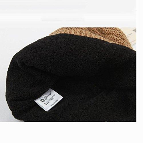 profundo Simple Color Sombrero Azul Hombres Marrón Colores CJC Tres 61BwqxTa7