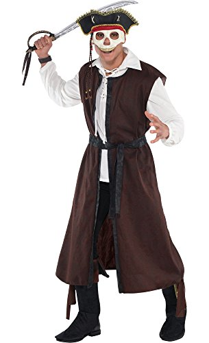 HalloCostume Adult Pirate Costume Premier - Adult Premier Pirate Costumes