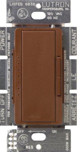 Lutron MACL-153M-SI Maestro 150-Watt Multi-Location CFL/LED Digital Dimmer, Sienna