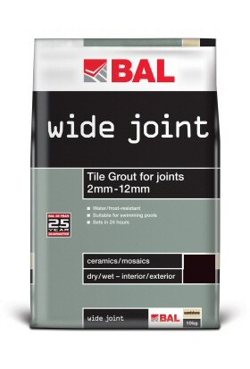 Wide Joint Grout Grey 10 Kg, Grout Grey BAL Floor Tile Grout, Per Unit