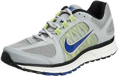 NIKE Men's Zoom Vomero+ 7 Running Shoes, Grey/Blue/Yellow