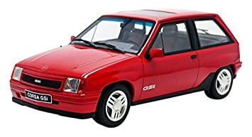Otto Mobile ot180 – Opel Corsa GSi – 1988 – Escala 1/18 – rojo