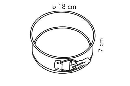 Tescoma Delicia Tortiera Apribile 1 Fondo Diametro 12 cm