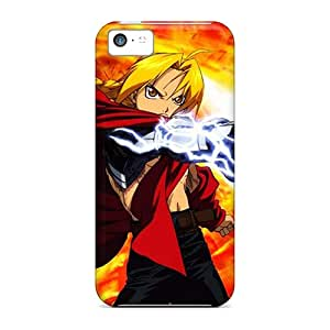 New AWC400PfyS Full Metal Alchemist Skin Case Cover Shatterproof Case For Iphone 5c