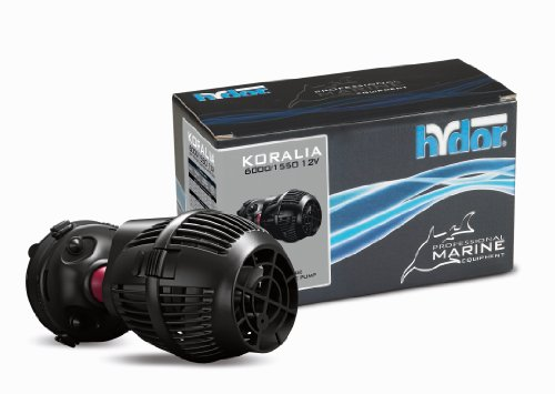 HYDOR Koralia 1550 Controllable DC Pump for Aquariums, 12...
