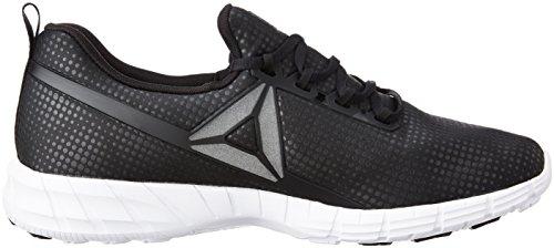 Fusion Black White BLACK 5 Men 2 FL Reebok WHITE Zpump 7w6q6A