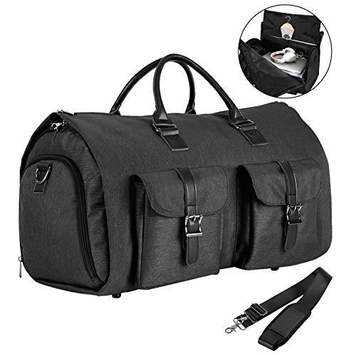 813383bec4dd Convertible Travel Garment Bag,Carry on Garment Duffel Bag for Men ...