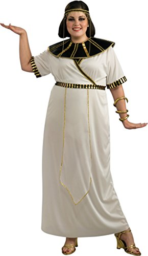 Rubies Womens Pharoah Queen Egyptian Girl Fancy Halloween Theme Party Costume, Plus (16-20) (Pharoah Hat)