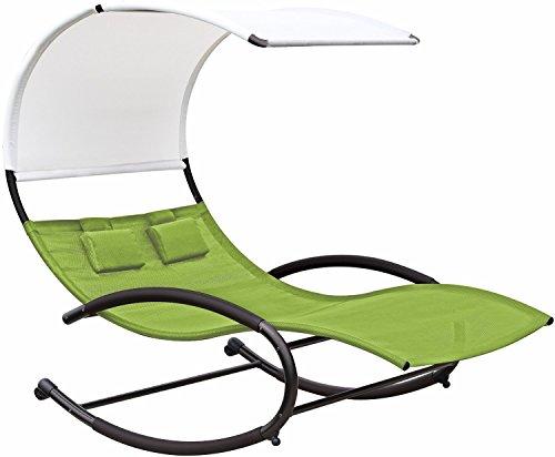 [해외]이클립스 콜렉션 Double Chaise Rocker (그린 애플)/Eclipse Collection Double Chaise Rocker (Green Apple)