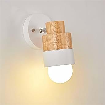 Z&MDH Modern simple Wall lights, bedroom bedside lamp living room aisle lights, single headWall lights, width 15cm, height 25cm