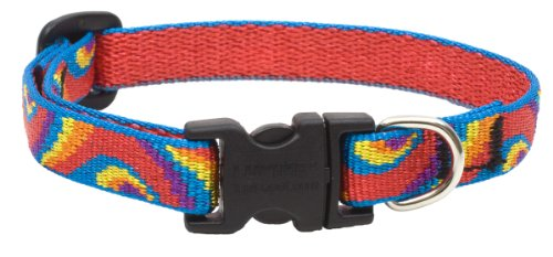 """LupinePet Originals 1/2"""" Lollipop 8-12"""" Adjustable Collar for Small Dogs"""