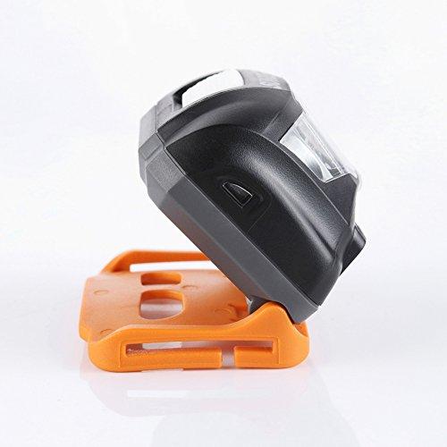 Etbotu LED Lampe frontale étanche Mini USB de chargement haute quantité Tête lampe de poche pour le camping