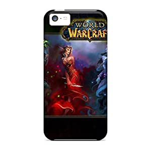 New Style Cases Covers Drp37320KrDh World Of Warcraft Compatible With Iphone 5c Protection Cases
