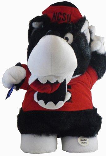 (North Carolina Wolfpack Mascot - College Musical Mascots Plush (12 Inch) )