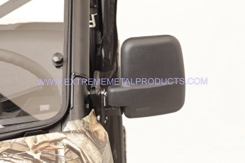 Polaris Ranger Folding Mirror Set for PRO-FIT Cages by Extreme Metal Products LLC (Image #1)