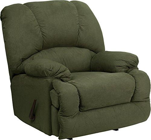 Flash Furniture AM-C9700-7903-GG Rocker Recliner Microfiber Olive (AM-C9700-7903-GG)
