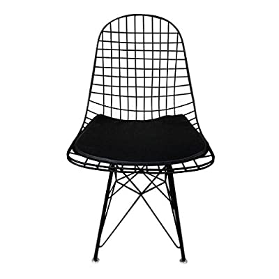 Mid Century Metal Wire Mesh Lounge Chair