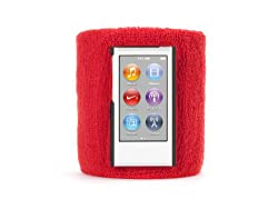 Griffin Red Sportcuff Wristband Case For Ipod Nano (7th Gen.) - Absorbent Wristband For Ipod Nano (7th Gen.)
