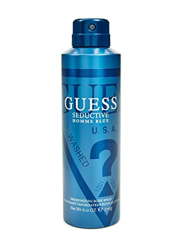 GUESS Men's Seductive Homme Blue Body Spray