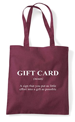 The Definition Tote Gift Card Funny Alternative In Dictionary Shopper Not Burgundy Bag Yx5waq45