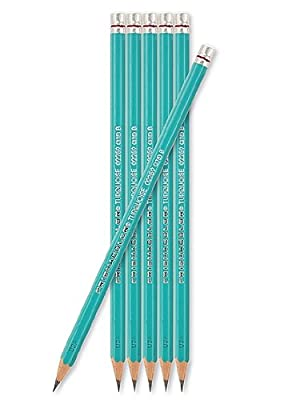 Sanford Turquoise Drawing Pencils (Each) 2H [PACK OF 24 ]