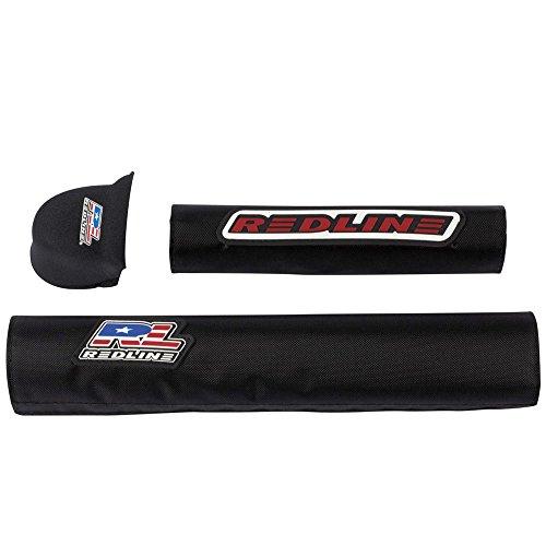 Redline BMX Pad Set Black - Pad Bmx Set