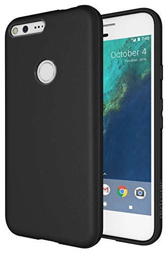 Google Pixel XL Case, Diztronic Full Matte Slim-Fit Flexible TPU Case for Google Pixel XL (2016) - (Matte Black)