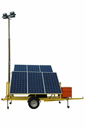 Solar Powered Led Light Towers - 9